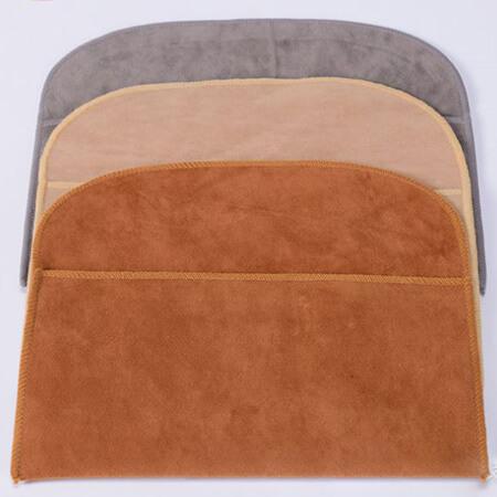 Faux suede velvet pouch flap envelope 2