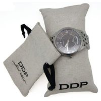 Jute gift bag for watch 1