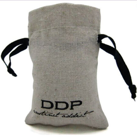 Jute gift bag for watch 2