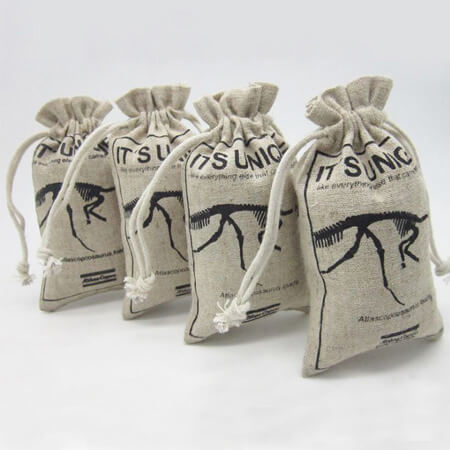 Jute packing drawstring bags 2