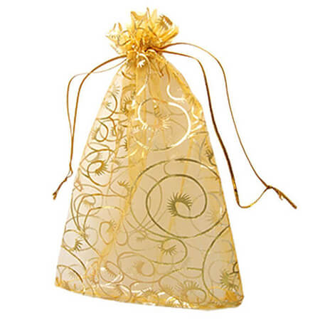 Nice organza gift packaging bag 1