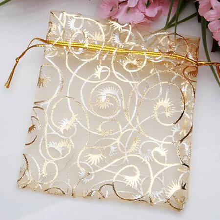 Nice organza gift packaging bag 2