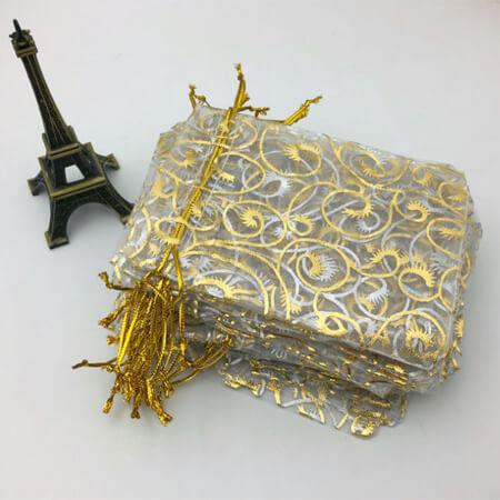 Nice organza gift packaging bag 4