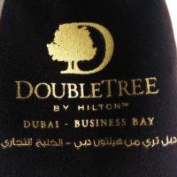 Printed velvet pouch for Dubai client 3