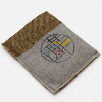 Promotional Small burlap drawstring pouch 4
