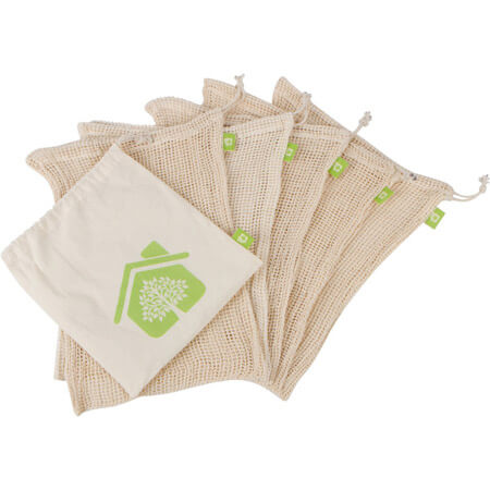 Recycle organic cotton mesh bags 1