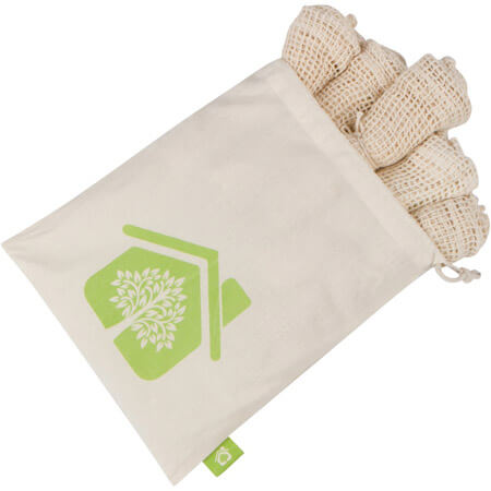 Recycle organic cotton mesh bags 2