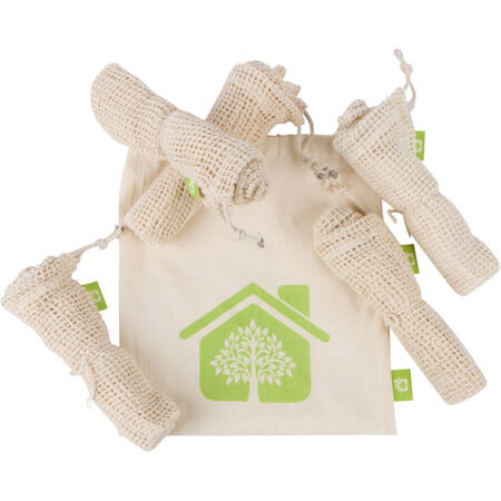 Recycle organic cotton mesh bags 4