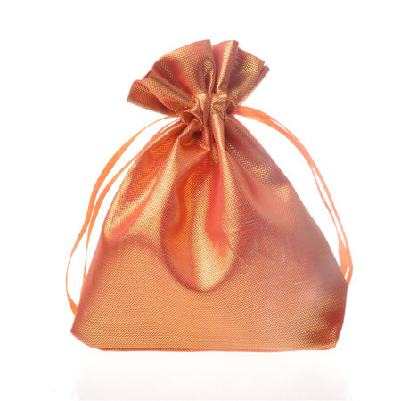 Smooth satin silk drawstring pouch 2