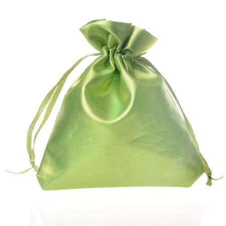 Smooth satin silk drawstring pouch 3
