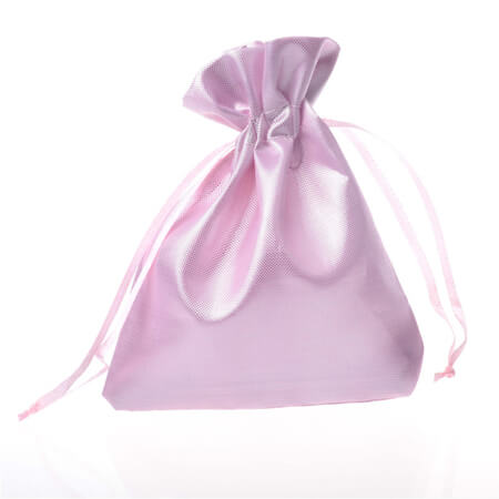 Smooth satin silk drawstring pouch 4