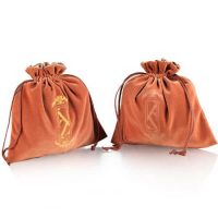 Velvet jewelry gift drawstring bag 2