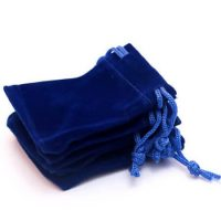 Velvet pouch custom size and color 3