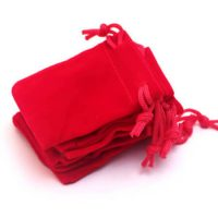 Velvet pouch custom size and color 4