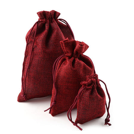 Wedding party favor vintage sack pouch 1