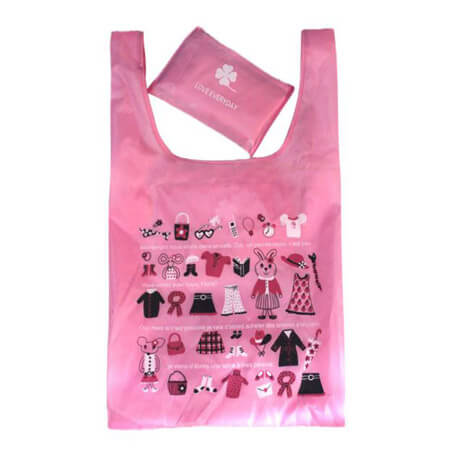210D polyester promotional shopping bag 3