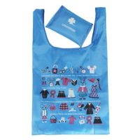 210D polyester promotional shopping bag 4