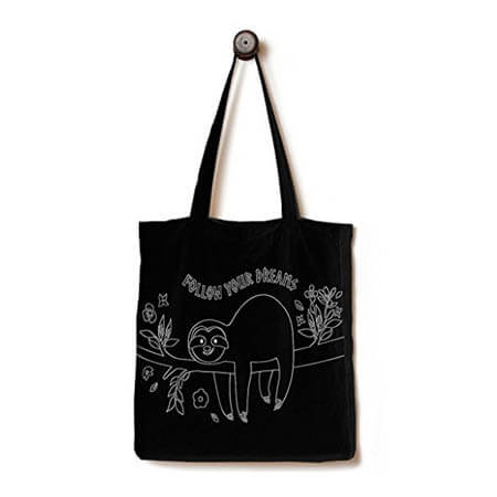 Biodegradable 100% cotton shopping bag 3