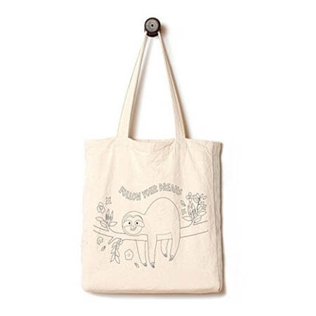 Biodegradable 100% cotton shopping bag 4