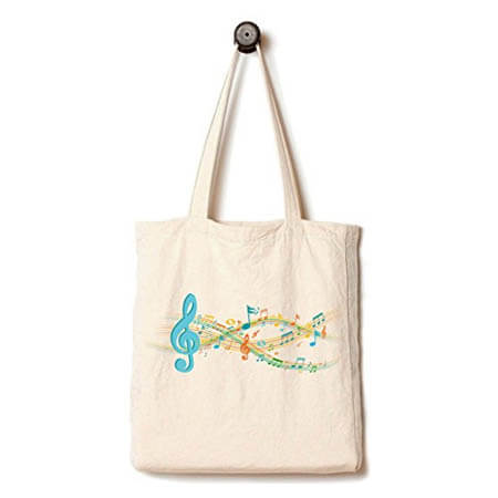 Canvas tote bag with gusset customize 3