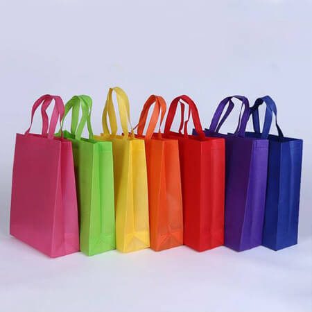 Colorful non woven shopping bag 1