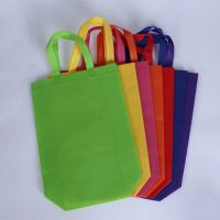 Colorful non woven shopping bag 2