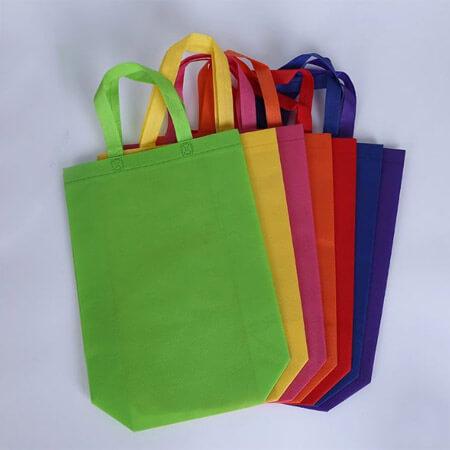 Colorful non woven shopping bag 2