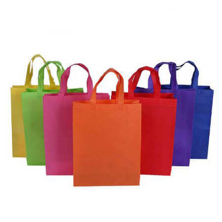 Colorful non woven shopping bag 4