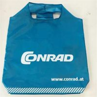 Customize blue foldable shopping bag 1