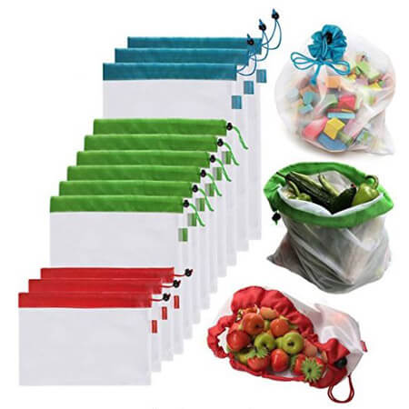 Eco Friendly bags for fruit, vegetable, toys 1