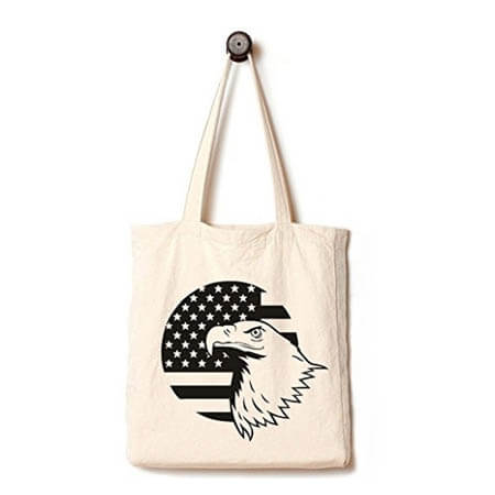 EcoFriendly tote bag printed animal 2
