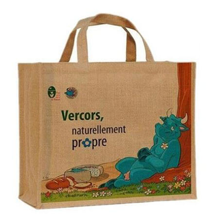 Fashion natural jute shopping bag 1