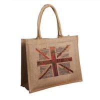 Fashion natural jute shopping bag 2