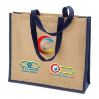 Fashion natural jute shopping bag 3
