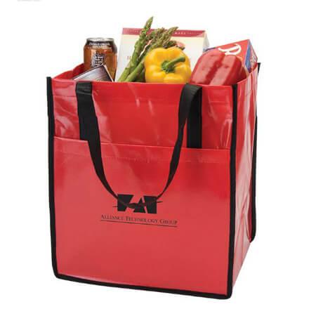 Glossy laminated non woven bag 4