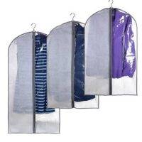 Lightweight garment bag with PVC window 1