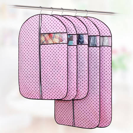 Lightweight garment bag with PVC window 4