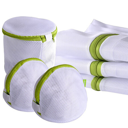 Net laundry bag zipper 1