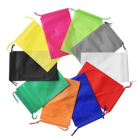 Non woven drawstring bags for shoes 1