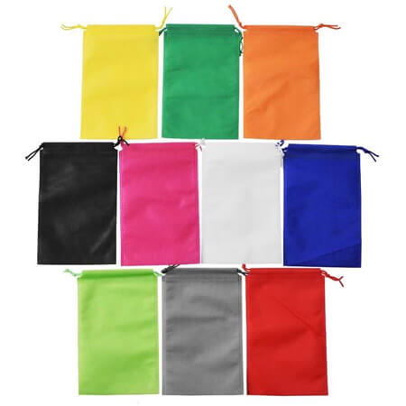 Non woven drawstring bags for shoes 2