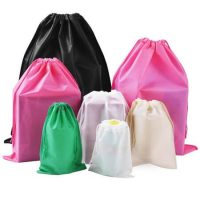 Non woven drawstring bags for shoes 4