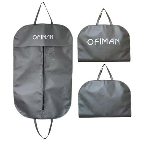 Non woven fabric breathable garment bags 1