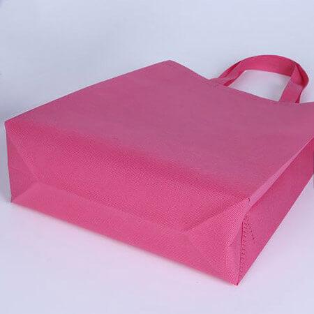 Pink non woven shopping bag 2