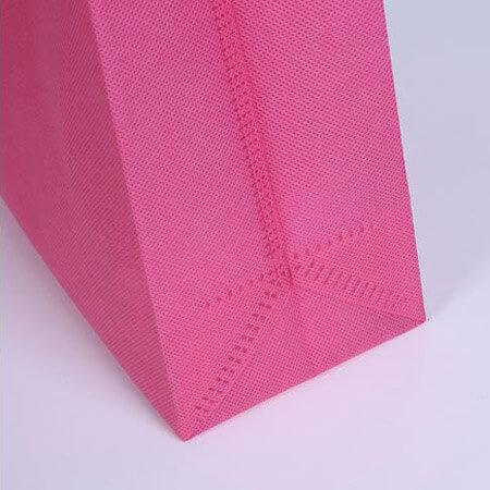 Pink non woven shopping bag 3