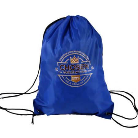 Promotional polyester drawstring bag 2