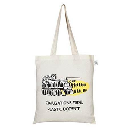 Reusable 100% cotton canvas bags 2