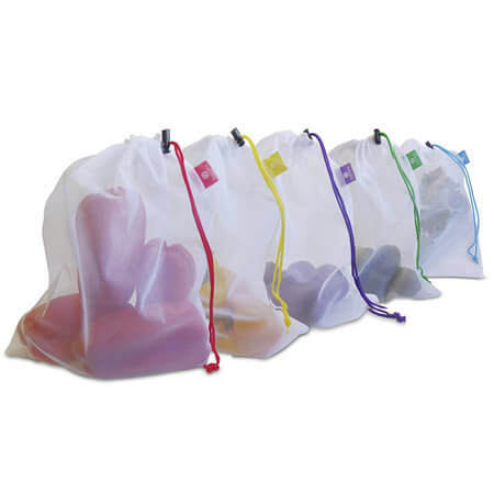 Washable mesh bag for grocery shopping 1