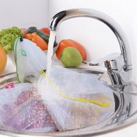 Washable mesh bag for grocery shopping 3