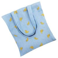 Canvas shopping bag without gusset 4