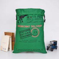 Cotton gift bag for Christmas 3